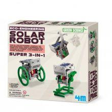 Soldrevet Robot 3-i-1, Bygg selv