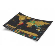 Scratch Map Deluxe - Verdenskart