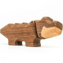 FableWood - Magnetisk treleke, Liten krokodille