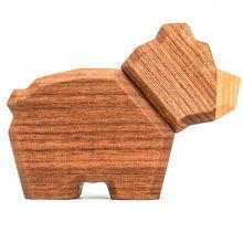 FableWood - Magnetisk treleke, Lille bjørn