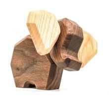 FableWood - Magnetisk treleke, Liten elefant