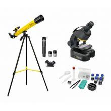 Mikroskop & Teleskop - Utvidet forskersett