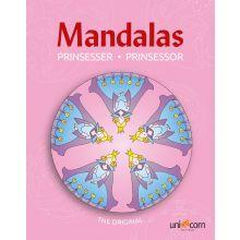 Mandalas malebok - Eventyrlige prinsesser
