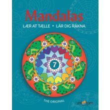 Mandalas malebok - Lær å telle