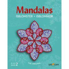 Mandalas malebok - Eventyrlige iskrystaller