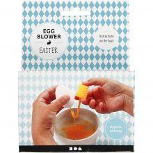 Eggeblåser i plast