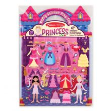 Aktivitetsbok med klistremerker - Prinsesser