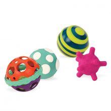 Aktivitetsbolde - Ball-a-Balloos, 4 stk