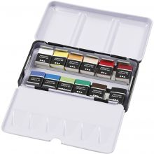 Akvarellfarger Art Aqua, 12 farger