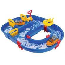 Vannleke AquaPlay - Slusesett m. 23 deler