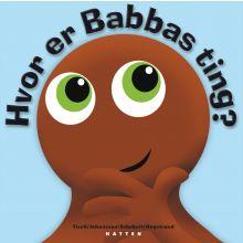 Babblarna språktreningsbok - Hvor er Babbas ting?