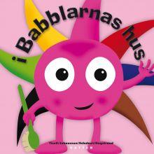 Babblarna språktrening bok - I Babblarnas hus
