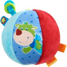 Ball i stoff med merker 11 cm