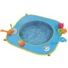 Badebassin til stranden, inkl. legetøj