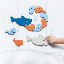 Badelek Quutopia - Puslespill med haier/fisk