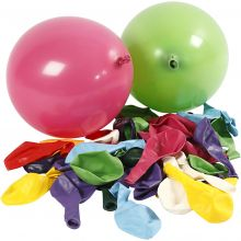 Ballonger, runde - 100 stk
