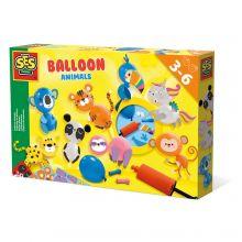 Ballongfigurer med dyr