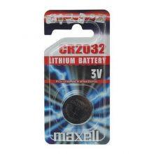Batteri CR2032 3 V - 1 stk Lithium Maxell