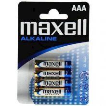 Batterier AAA - 4 stk. Alkaline Maxell