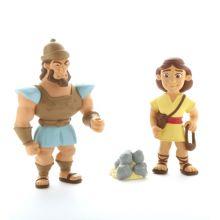 Bibelsk figursett – David og Goliat