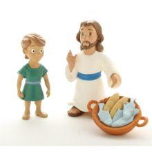 Bibelsk figursett – Jesus metter 5000