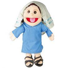 Bibelsk hånddukke 35cm - Maria