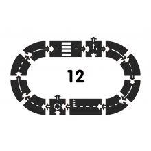 Bilbane - Ringvei, 12 deler