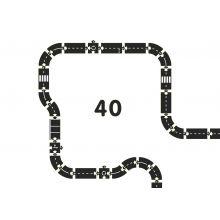 Bilbane - Veiens Konge, 40 deler