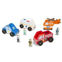Biler i tre - Redningskjøretøy