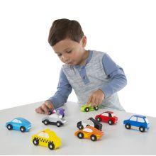 Biler i tre - Små kjøretøy - 9 biler