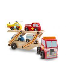 Biltransporter m. redningskjøretøy