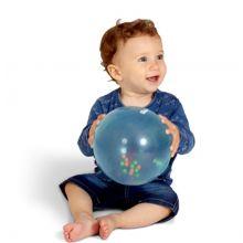 Bløt regnbueball m. kuler