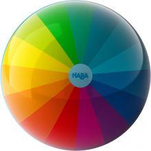 Ball med regnbuefarger - 15 cm