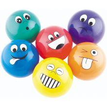 Baller med følelser 6 stk - Ø 10 cm