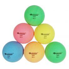 Bordtennisballer Poly 40+, 6 stk. - Ø 4 cm.