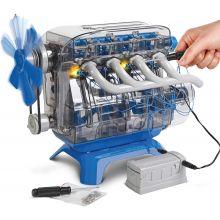 Byggesett - Bygg din egen 4 sylinder motor