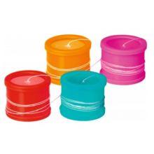 Bokstelefoner, 1 sett (ass. farger)