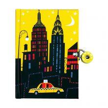Dagbok med lås - New York City