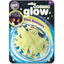Glow - Dinosaurer + stjerner, 12 deler