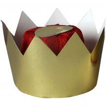 Dronningkrone i kartong
