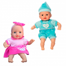 Dukke med bløt kropp - 30 cm