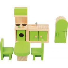 Dukkehus tilbehør - Kjøkken, 5 deler