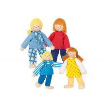Dukkehus - Dukkefamilie
