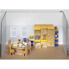 Dukkehus tilbehør - Kjøkken, moderne