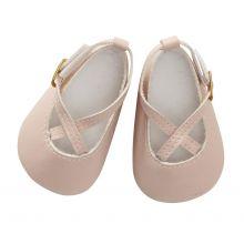 Dukke sko - Pudderrosa - 2 str.