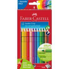Faber Castell Fargeblyanter Jumbo Grip 12 stk