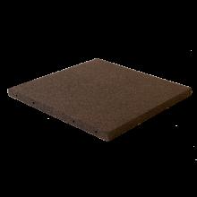 Fallunderlag 50 x 50 cm / 30 mm tykk - Sort
