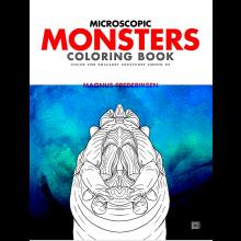 Fargeleggingsbok - Mikroskopiske monstre