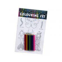 Fargeleggingssett - Insekter
