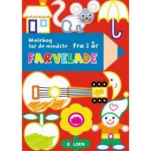 Fargelade - Malebok for små barn (fra 3 år)